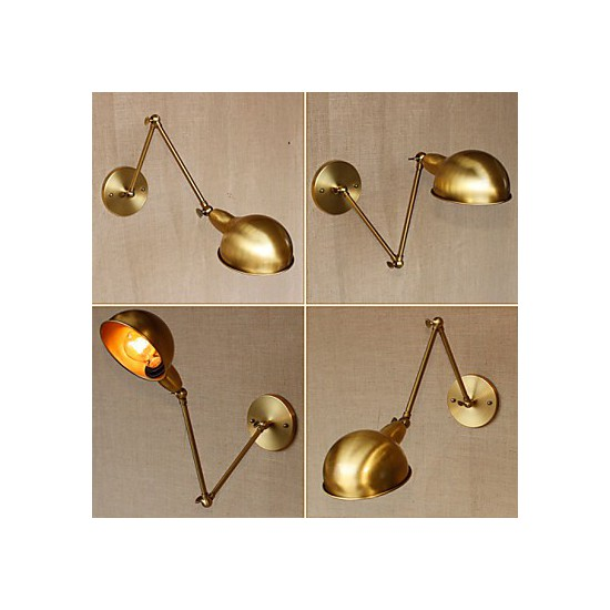 Wall Sconces High End : The Long Arm Of American Industrial-Style Double High-End Decorative Wall Sconce - Lighting GO