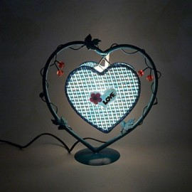 Creative Personality Furnishing Articles Gifts Vintage Vintage Boutique Handicraft Desk Lamp, Wrought Iron Led Light