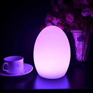 Rechargeable Color Changing Cylinder Shaped Lamp Bar Led