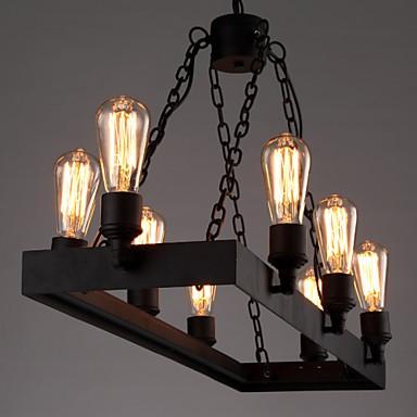 Modern Retro Loft Chandeliers American Country Chandelier Creative Industrial Cafe Lamp Bedroom Living Room Lights