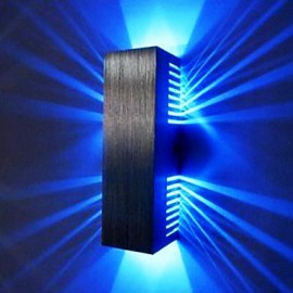 2W Modern Led Wall Light with Scattering Light Design 2 Cubic Shades