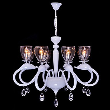 European Style Crystal Droplight Individuality Creative Swan Hotel