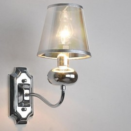 Mini Style Wall Sconces , Modern/Contemporary E12/E14 Metal