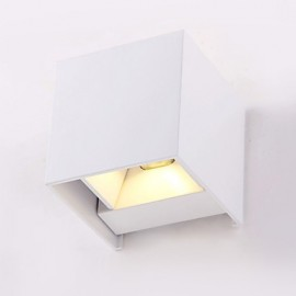 6W Wall Sconces LED Modern/Contemporary Metal