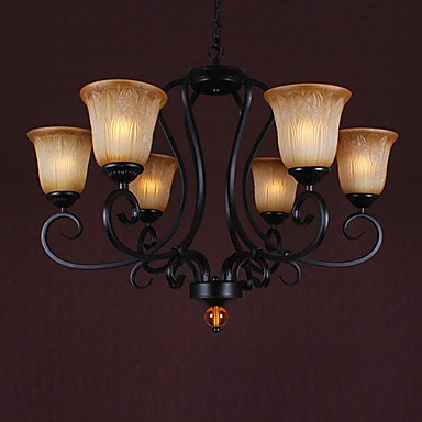 Max 60W Traditional/Classic Candle Style Painting Chandeliers Living Room / Dining Room