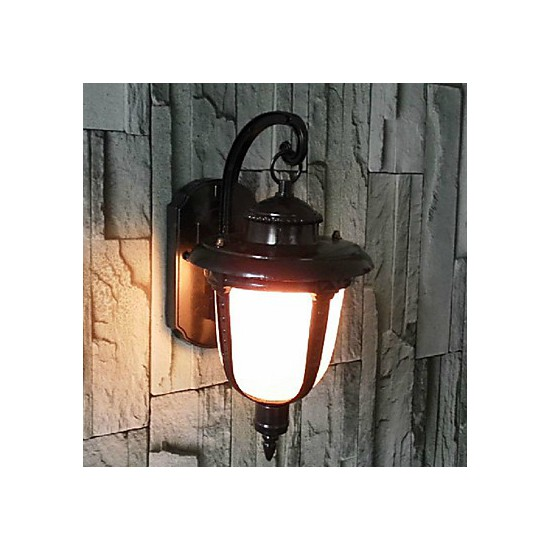 Traditional Metal Wall Lights : Outdoor Wall Lights , Traditional/Classic E26/E27 Metal - Lighting GO