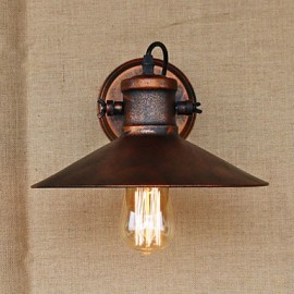 Loft industrial Warehouse Creative Living Room Balcony Wind Ferruginous Nostalgic Retro Pastoral Staircase Wall Lamp