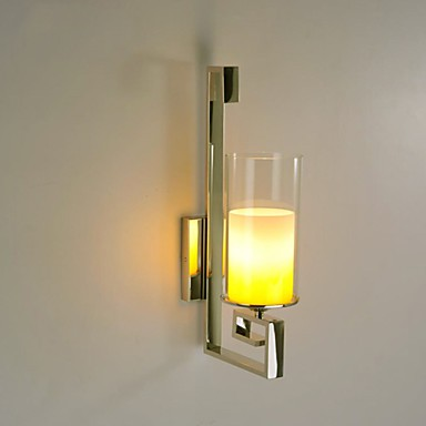 Modern Glass Dining Room Wall Lights Simple Kitchen Wall Lamps Bar Cafe Hallway Balcony Wall