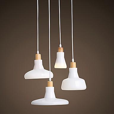 Creative Characteristic 4 Light Pendant with Iron Shade