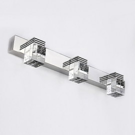 Wall Sconces / Bathroom Lighting / Wall Washers Crystal / LED / Mini Style Modern/Contemporary Metal