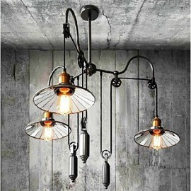 Vintage / Country Mini Style Painting Metal ChandeliersLiving Room / Bedroom / Dining Room / Study Room/Office / Kids Room / Game Room /