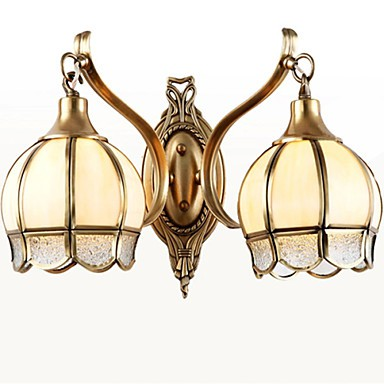 Traditional Metal Wall Lights : Wall Sconces Mini Style / Bulb Included Traditional/Classic Metal - LightingO