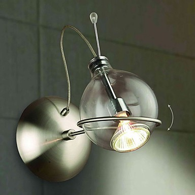 Modern Metal Wall Sconces : Wall Sconces , Modern/Contemporary MR16 Metal - LightingO