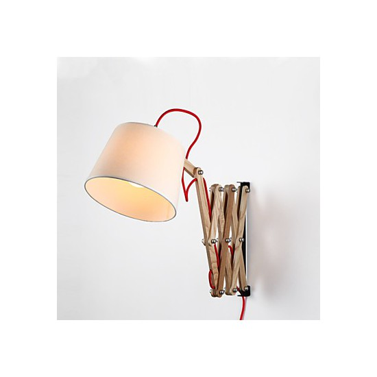 Wall Sconces For Reading : Wall Sconces / Reading Wall Lights Mini Style Traditional/Classic Wood/Bamboo - LightingO
