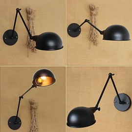 Industrial Style Retro Double Long Arm a Simple Personality Ills Bedside Dining Decorative Wall Sconce