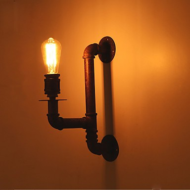 Rustic Lodge Wall Sconces : Wall Sconces Mini Style / Bulb Included Rustic/Lodge Metal - LightingO