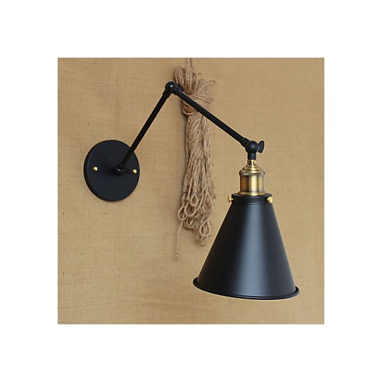Rustic Wall Reading Lights : Wall Sconces / Swing Lights / Reading Wall Lights Mini Style Rustic/Lodge Metal - LightingO