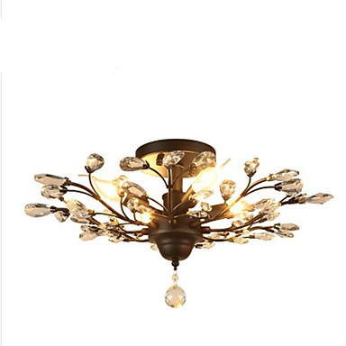 Mediterranean Restaurant Bedroom Retro Creative Suction Top Simple Lamps 5.5