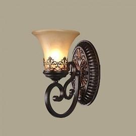 Wall Light, 1 Light,Modern Metal Anodized Polishing