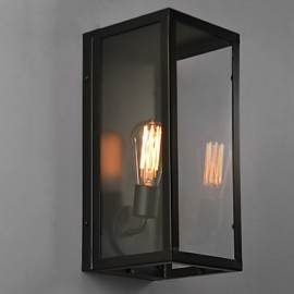Retro Iron Bedsides Wall Sconce Village Pastoral Living Room Wall Lights Dining Room Wall Lamp