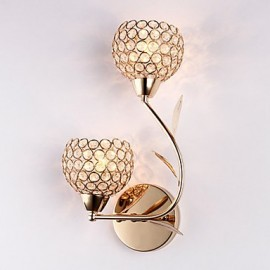 Wall Sconces / Reading Wall Lights Crystal / Mini Style Modern/Contemporary Metal