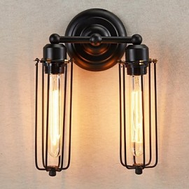 Wall Sconces Bulb Included Rustic/Lodge Metal