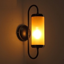 E27 34*15CM 10-15㎡Contracted And Contemporary American Country Restoring Ancient Ways Candlestick Wall Lamp Led Lights