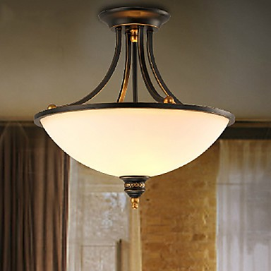 MAX 60W Modern/Contemporary Mini Style Electroplated Metal Chandeliers Living Room / Bedroom / Dining Room / Study Room/Office