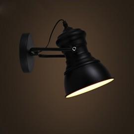 Art Deco Wall Sconces Lamp Industrial Iron Signboard Loft Wall Lamp