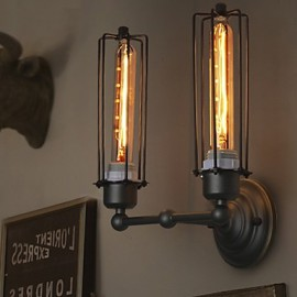 E27 33*25CM 10-15㎡Loft American Country Retro Iron Wall Lamp Art Industry Led Lights