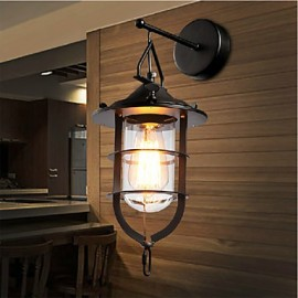Wall Sconces Mini Style / Bulb Included Tiffany Metal