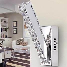 Crystal Wall Sconces , Modern/Contemporary LED Integrated Metal