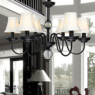 Modern/Contemporary Metal Chandeliers Living Room / Bedroom / Dining Room / Study Room/Office