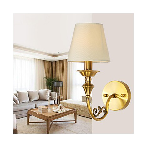 Classic Bedroom Wall Lamps Simple Metal Living Room Wall