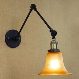 Wall Sconces / Bathroom Lighting / Outdoor Wall Lights / Reading Wall Lights Bulb Included Rustic/Lodge Metal