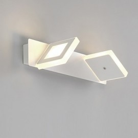 8W LED Bathroom Lighting , Modern/Contemporary LED Integrated Metal