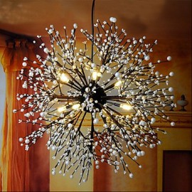 Industrial Wind Star Pendant Decorative Clothing Coffee Bar Club LED Fireworks Spark Light