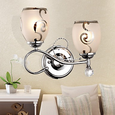 Wall Sconces Crystal Modern/Contemporary Metal - LightingO