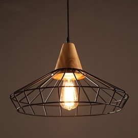MAX 60W Traditional/Classic / Vintage Mini Style Metal Chandeliers Living Room / Bedroom / Dining Room / Study Room/Office
