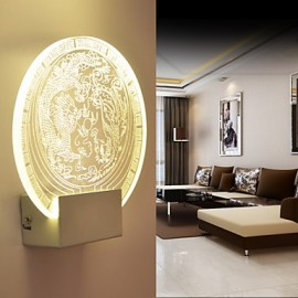 Wall Sconces PVC Lamp Light LED / Bulb Included Modern/Contemporary Metal 220V 5㎡-10㎡