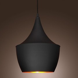 Pendant Light Retro Vintage Tom Dixon Design Black