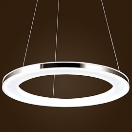 15w Modern/Contemporary LED Metal Pendant Lights