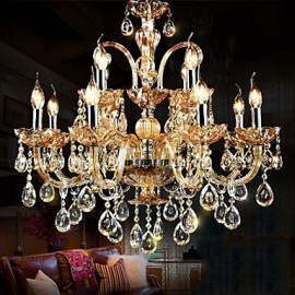 Chandeliers Crystal Modern/Contemporary/Traditional/Classic Living Room/Bedroom/Dining Room/Study Room/Office Glass