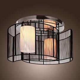Ceiling Light Modern Design Bedroom 2 Lights Black