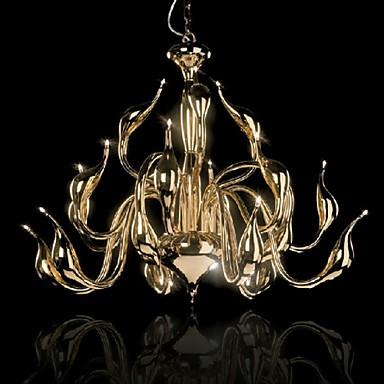 Modern Chandelier Light 18 Lights LED G4 Gold Plating/ Bulb Included/ Living Room / Bedroom