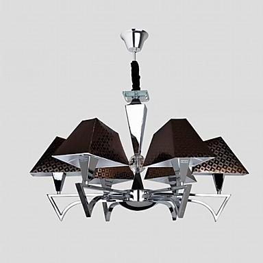 Fashion Wrought Iron Chandelier Lighting Restaurant Art Chandelier with 6 Lights