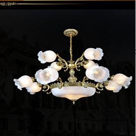 Chandeliers, Traditional/Classic/Vintage/Retro Bedroom/Dining Room/Kitchen/Study Room/Office/Hallway Metal