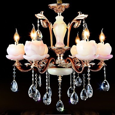 European Style Luxury Zinc Alloy Jade Crystal Pendant A