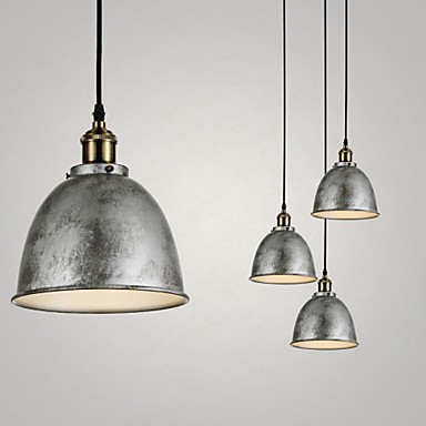 1 Lights Pendant Lamps Antique Vintage Style Industry