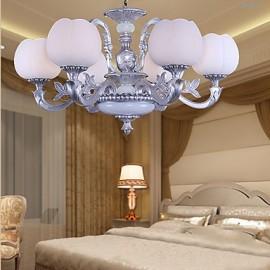 Chandeliers Modern/Contemporary Living Room / Bedroom / Dining Room / Study Room/Office Metal